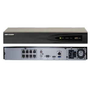 NVR 8 CANALES HIKVISION POE -H264+ DS-7608NI-E2/8P
