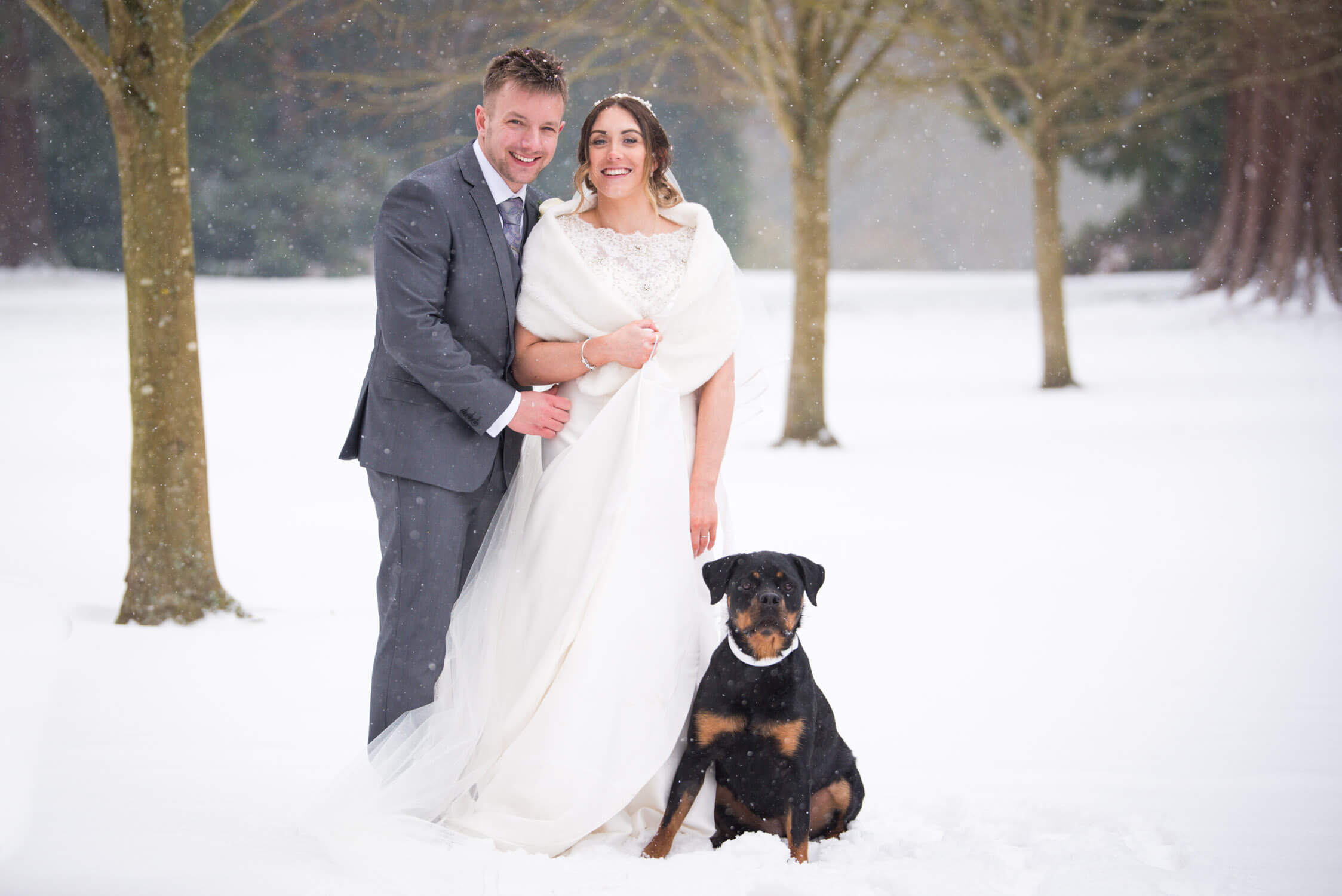 Winter Wedding at Tylney Hall