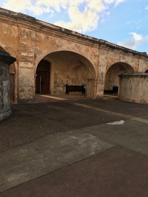 Castillo San Felipe del Morro Courtyard