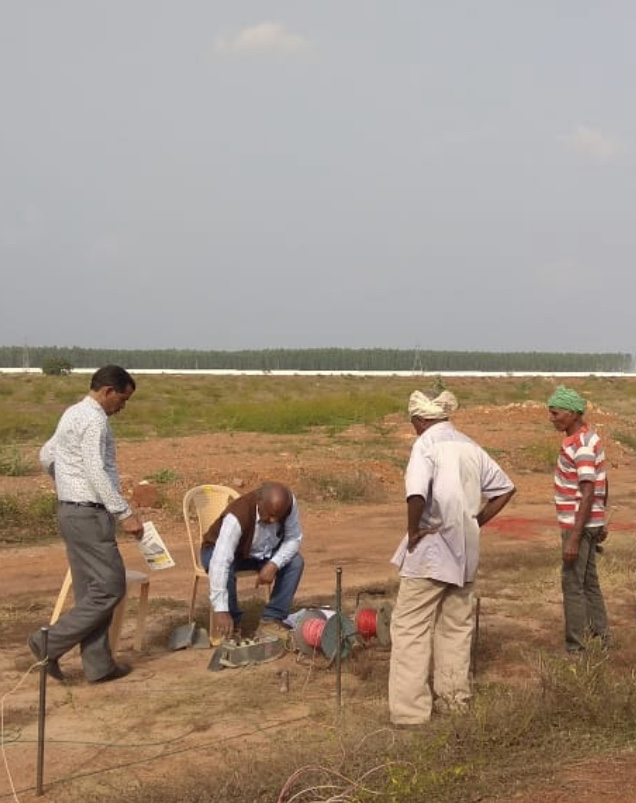 A Geophysical Survey In Progress