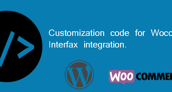 woocommerce interfax customization