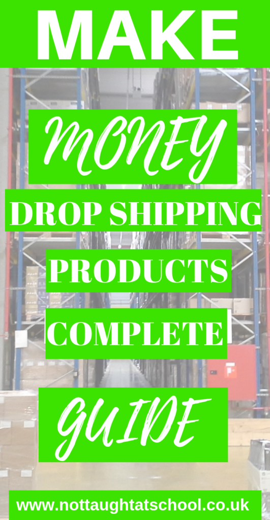 How to make money drop shipping products, this quick and easy guide shows you step-by-step how to set up and start drop shipping products today.