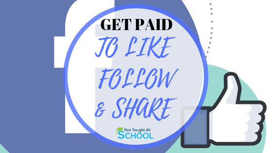 Today I share how you can get paid to make social media posts, including liking a page, or following, plus you can make money following someone on Twitter and even Youtube.