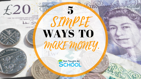 In this article we share 5 really simple ways to make some extra money from home in the UK, none of these require any skills and you can get starting earning some extra money today.
