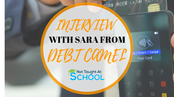 Earn Extra Money From Home - Interview Series. Today we interviewed Sara from Debt Camel who shared some great tips to earn extra money working from home.