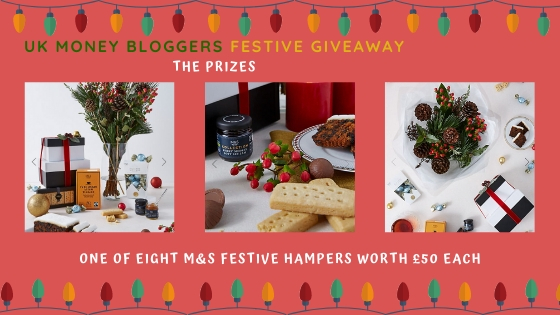 The UK money bloggers Christmas giveaway