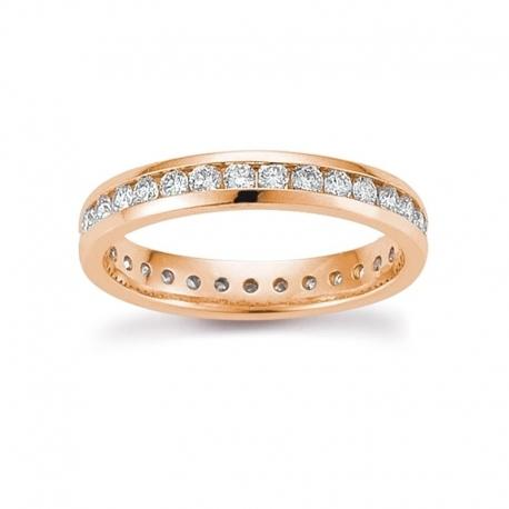 Palido - Memoire Ring Rotgold 585 0,75ct