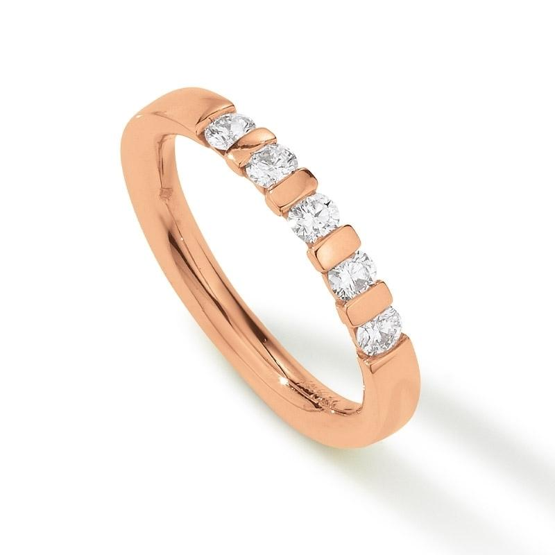 Palido - Memoire Ring Rotgold 585 0,37ct
