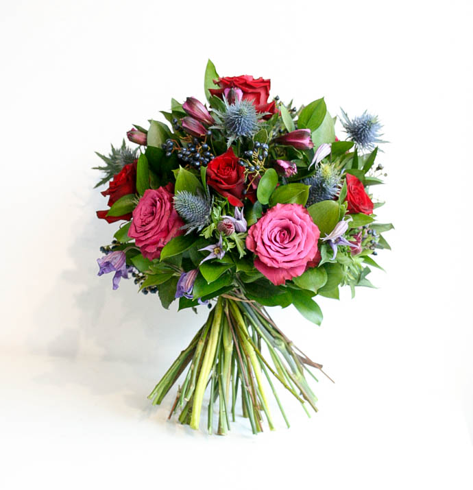 Bouquets for delivery in North London, created by Garland