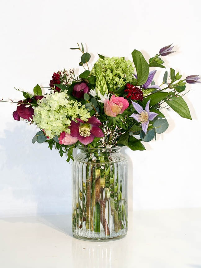 Beautiful mixed seasonal bouquets, delivered every Friday in North London
