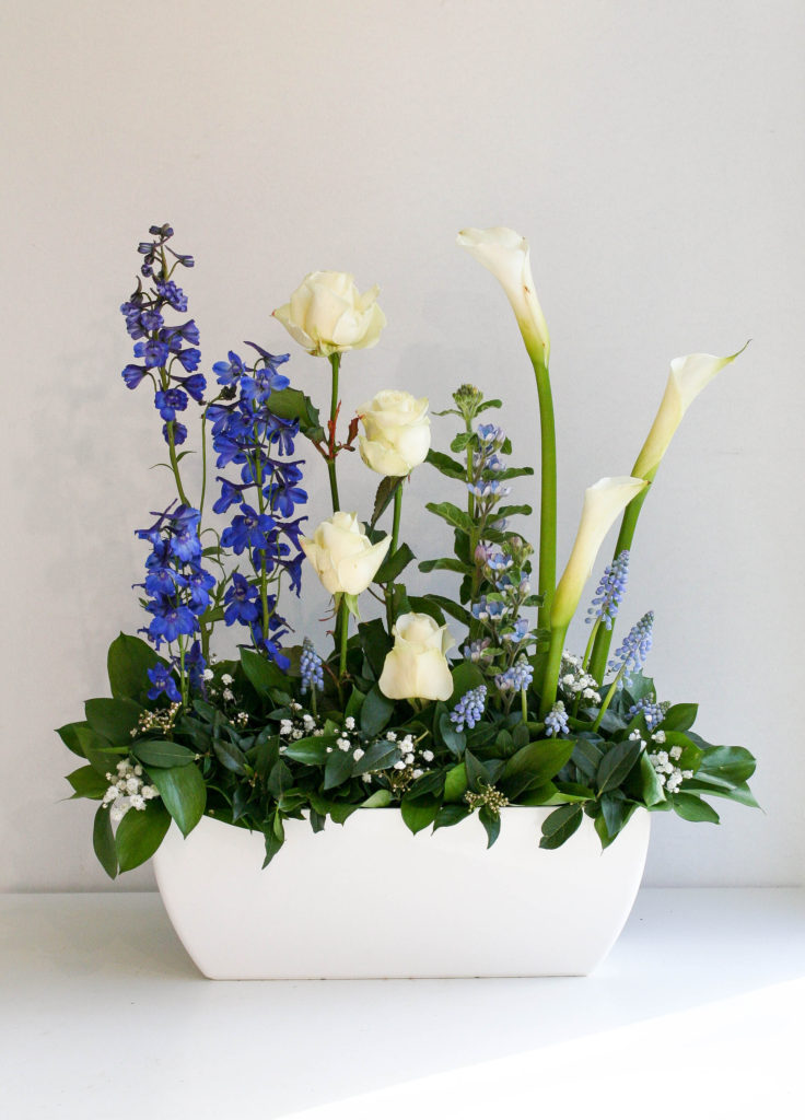 Contract Flowers for North London, created by florist Garland