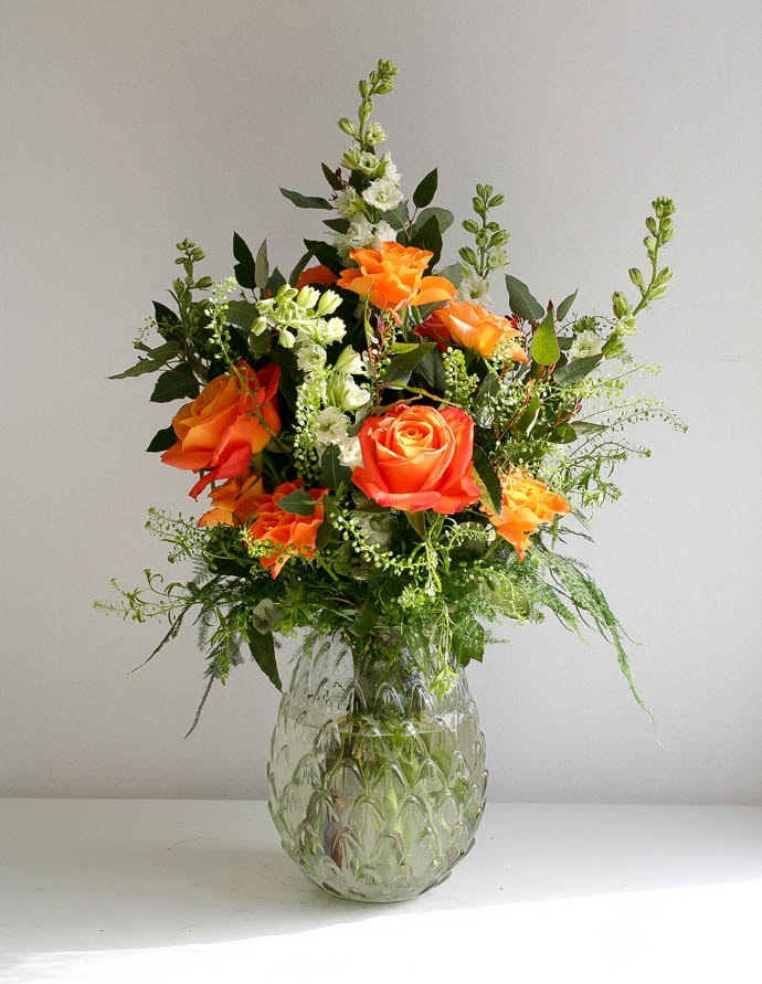 Flowers For the Office created by North London Florist Garland