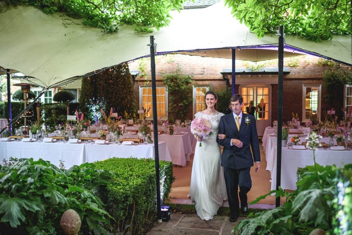 Country Garden Wedding flowers, created by Garland