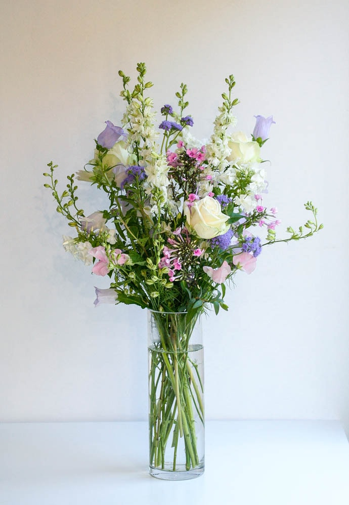 Meadow flowers for a beautiful wedding