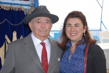 רפאלה ואביה יוסף עבו עברון 2012