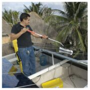 SOLAR CLEANING WIPER