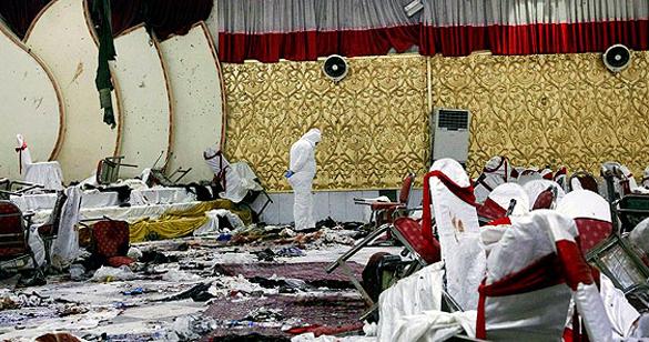 काबुल: शादी समारोह के हॉल में आत्मघाती बम विस्फोट, 63 लोगों की मौत, 182 से अधिक जख्मी