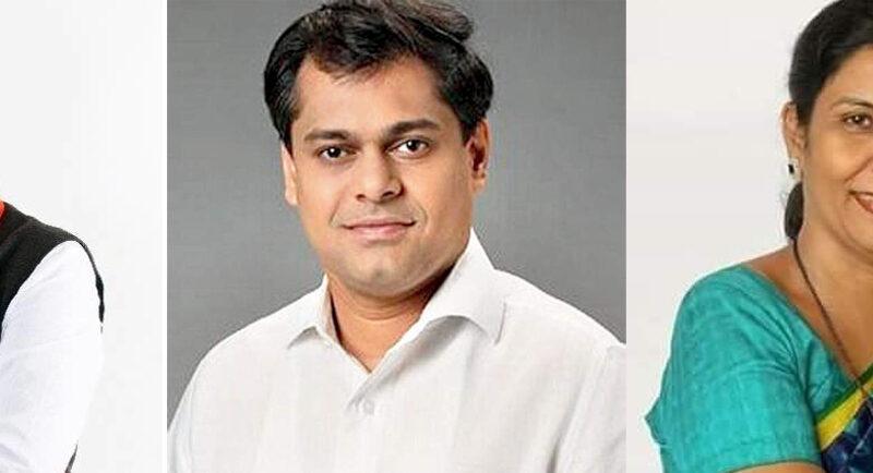 मुंबई भाजपा: मोहित, अमित और सलाखा बने भाजपा के महामंत्री..