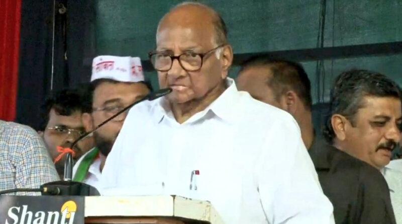 शरद पवार बोले- अब पुलवामा जैसी घटना ही महाराष्ट्र में लोगों का मूड बदल सकती है...!
