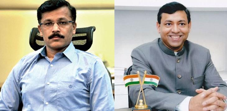 तुकाराम मुंडे नागपुर मनपा के नए आयुक्त, राजीव निवतकर बने मुंबई के जिलाधिकारी