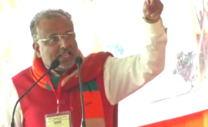 BJP नेता का विवादित बयान, बोले- मोदी-योगी के खिलाफ नारे लगाने वालों को दफना दूंगा...