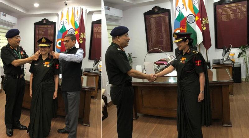 माधुरी कानितकर बनीं तीसरी महिला लेफ्टिनेंट जनरल