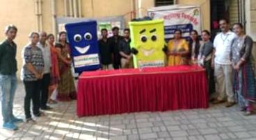 मुंबई: तिलक महाराष्ट्र विश्वविद्यालय के छात्रों ने ली कचरा प्रबंधन की जानकारी