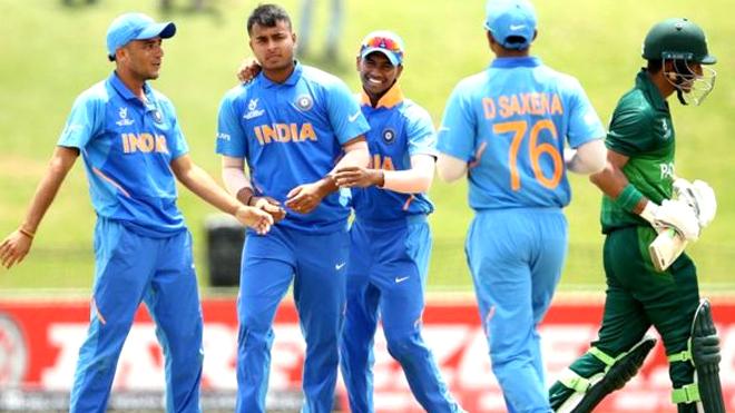 अंडर-19 विश्व कप क्रिकेट: पाकिस्तान ने INDIA को दिया 173 रन का लक्ष्य