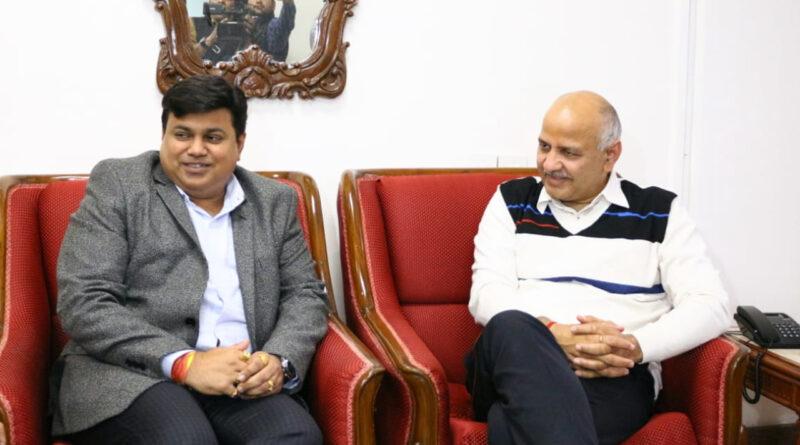 दिल्ली के शिक्षा मंत्री सिसोदिया से मिले महाराष्ट्र के मंत्री सामंत, बोले- मिलकर बनाएंगे बेहतर शिक्षा मॉडल