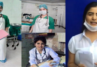 कोरोना से जंग: एक्ट्रेस शिखा मल्होत्रा ने शुरू की नर्स की ड्यूटी