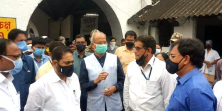 महाराष्ट्र: कोरोना वायरस से निपटने के लिए चंद्रपुर के लिए सांसद महात्मे ने दी 50 लाख