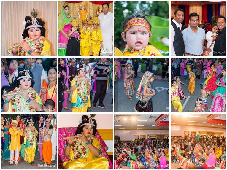 album-Janamashtmi Celebrations in Lakshmi Narayan Temple, Surrey
