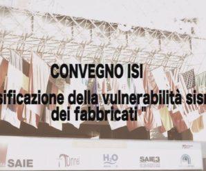 Ingegneria Sismica Italiana ISI – Convegno SAIE 2016