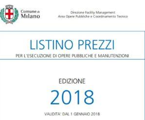 Disponibile il nuovo listino opere edili di Milano