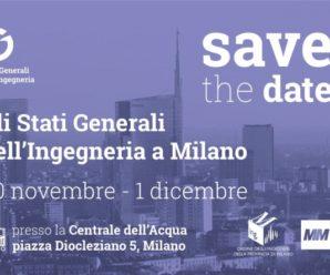 Stati Generali dell'Ingegneria a Milano