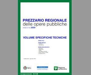 Listino Prezzi Lombardia aggiornato al 2020