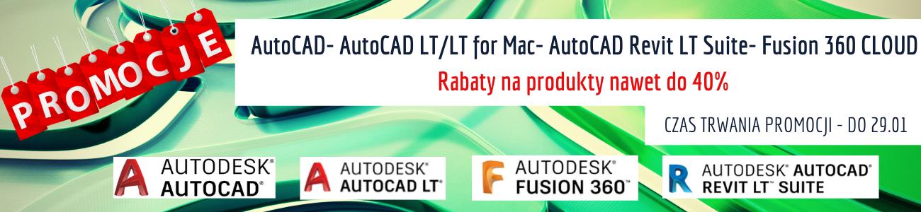 Promocyjne ceny na produkty - AutoCAD- AutoCAD LT_LT for Mac- AutoCAD Revit LT Suite- Fusion 360 CLOUD (2)