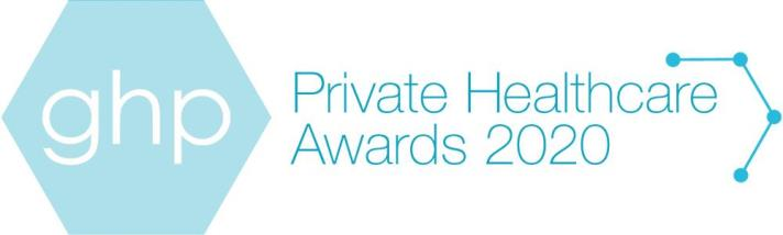 Logo for the 2020 Private Healthcare Awards