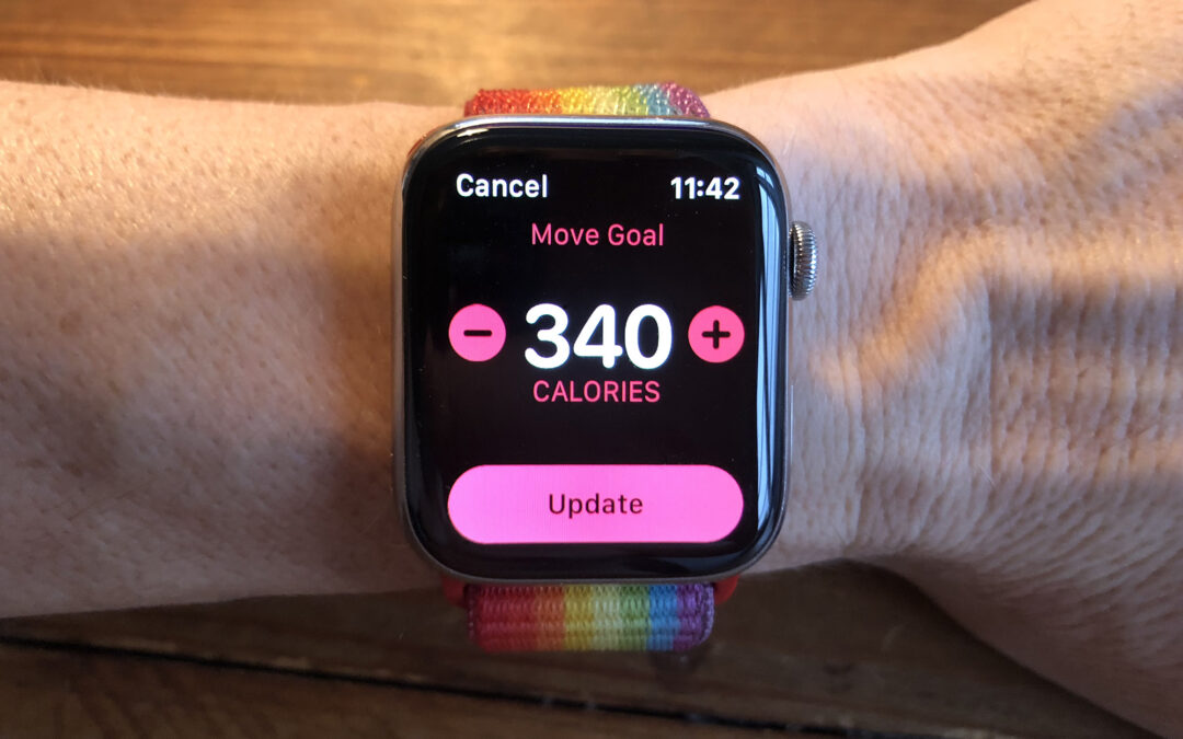 How to set an Apple Watch Move goal that's right for you [Cult of Mac]