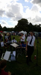 Richard Hill at Town Show 2015