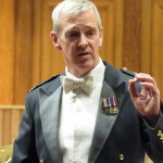 Director of the RAF Music Service, Wing Commander Duncan Stubbs.