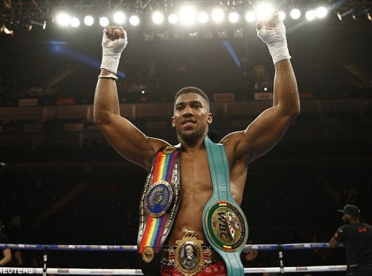 Anthony Joshua Is Britain's Heavyweight Don