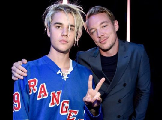 Justin Bieber And Major Lazer Hit No 1 On  The Charts
