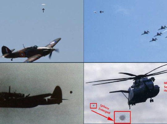 Ufos And Military Aircraft Captured On Camera In DogFight