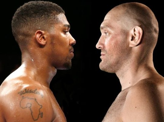 Joshua To Fury: Shut Up And Give Me A Date