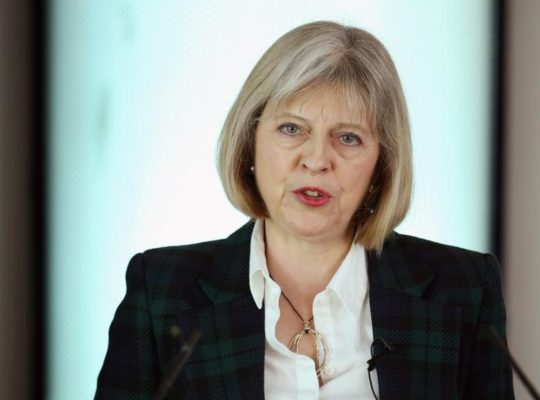 "Theresa May Accused Of Running A ""NAZI- LIKE"" SYSTEM"