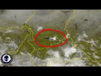 Ufo Spotted On Satellite Speeding Over Africa