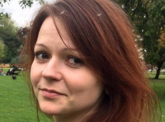 Poisoned Yulia Skripal's Condition Improves In Hospital