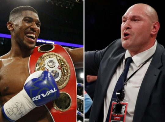 Anthony Joshua Tells Commentator Fury To Shut It And Fight