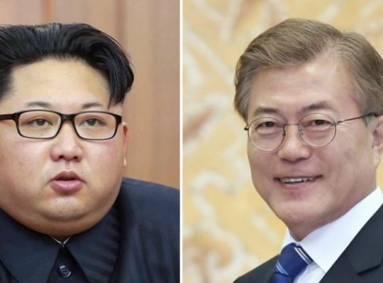 Leaders Of North And South Korea Agree To Denuclearization
